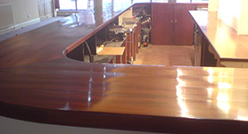 Bar/counter top re-surfacing