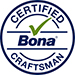 Dust Free Sanding Perth is certified dust free by Bona Australia